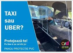Panou protectie Auto TAXI